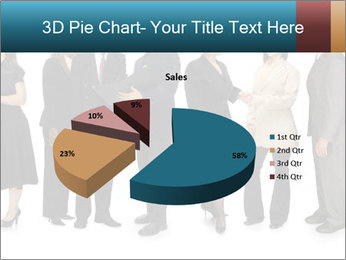 Group of corporate business people PowerPoint Template - Slide 35