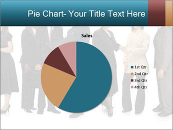 Group of corporate business people PowerPoint Template - Slide 36