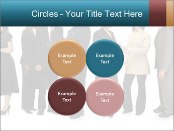 Group of corporate business people PowerPoint Template - Slide 38