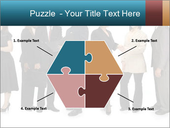 Group of corporate business people PowerPoint Template - Slide 40