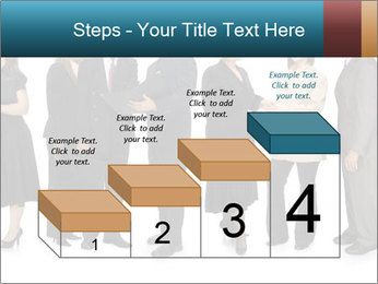 Group of corporate business people PowerPoint Template - Slide 64