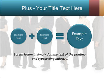 Group of corporate business people PowerPoint Template - Slide 75