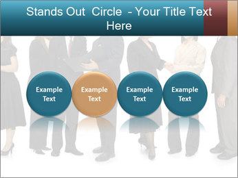 Group of corporate business people PowerPoint Template - Slide 76