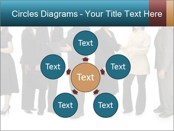 Group of corporate business people PowerPoint Template - Slide 78