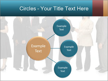 Group of corporate business people PowerPoint Template - Slide 79
