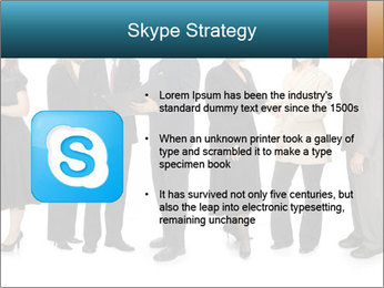 Group of corporate business people PowerPoint Template - Slide 8