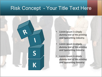 Group of corporate business people PowerPoint Template - Slide 81
