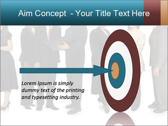 Group of corporate business people PowerPoint Template - Slide 83