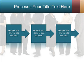 Group of corporate business people PowerPoint Template - Slide 88
