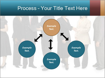Group of corporate business people PowerPoint Template - Slide 91