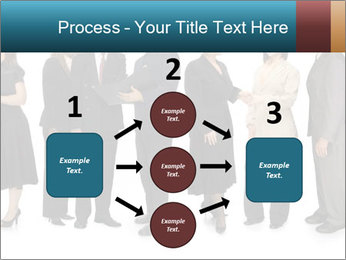 Group of corporate business people PowerPoint Template - Slide 92