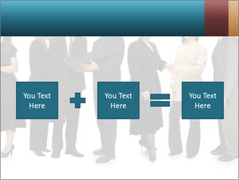 Group of corporate business people PowerPoint Template - Slide 95