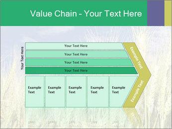 Wheat ears PowerPoint Template - Slide 27
