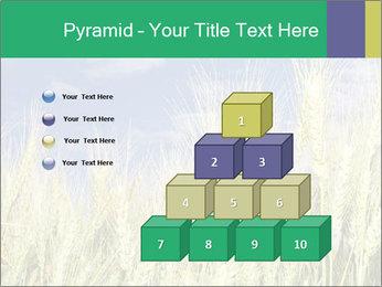 Wheat ears PowerPoint Template - Slide 31