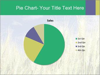 Wheat ears PowerPoint Template - Slide 36