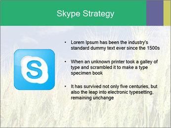 Wheat ears PowerPoint Template - Slide 8