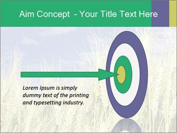 Wheat ears PowerPoint Template - Slide 83