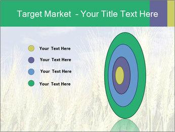 Wheat ears PowerPoint Template - Slide 84