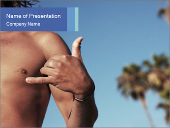 Hang loose Modèles des présentations  PowerPoint