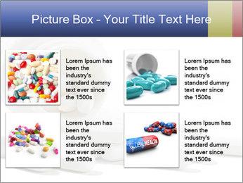 Bottle of tablets PowerPoint Template - Slide 14