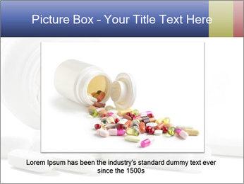 Bottle of tablets PowerPoint Template - Slide 15