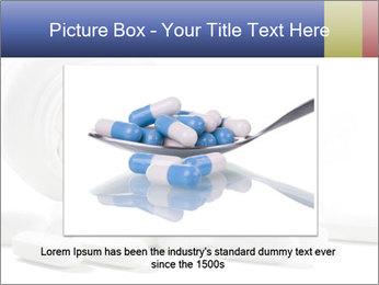 Bottle of tablets PowerPoint Template - Slide 16