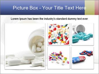 Bottle of tablets PowerPoint Template - Slide 19