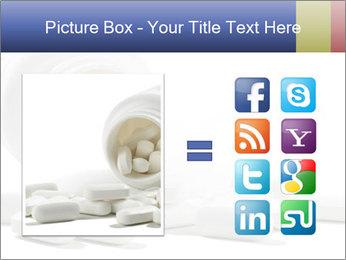 Bottle of tablets PowerPoint Template - Slide 21