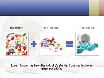 Bottle of tablets PowerPoint Template - Slide 22