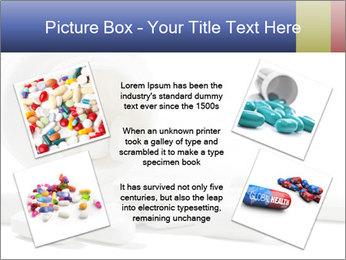 Bottle of tablets PowerPoint Template - Slide 24