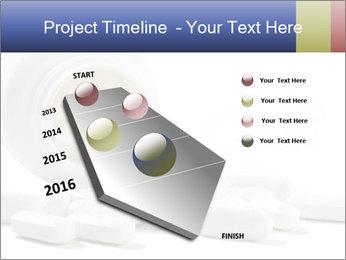 Bottle of tablets PowerPoint Template - Slide 26