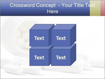 Bottle of tablets PowerPoint Template - Slide 39