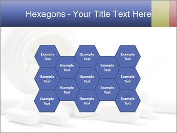 Bottle of tablets PowerPoint Template - Slide 44