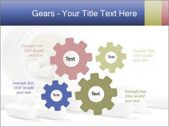 Bottle of tablets PowerPoint Template - Slide 47