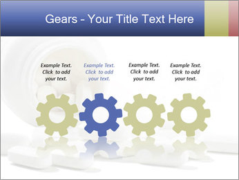 Bottle of tablets PowerPoint Templates - Slide 48