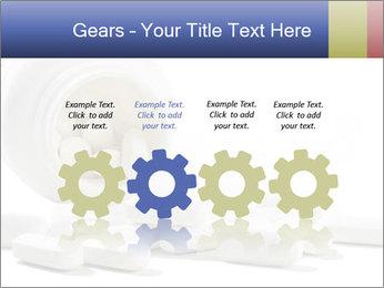 Bottle of tablets PowerPoint Template - Slide 48