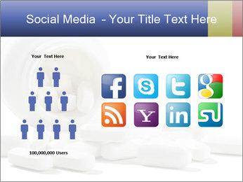 Bottle of tablets PowerPoint Template - Slide 5