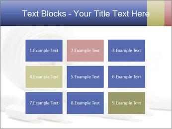 Bottle of tablets PowerPoint Template - Slide 68