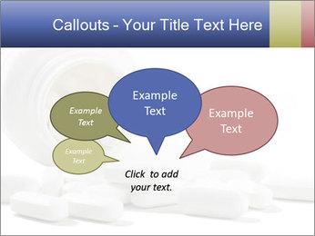 Bottle of tablets PowerPoint Template - Slide 73