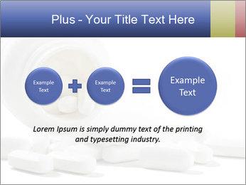 Bottle of tablets PowerPoint Template - Slide 75
