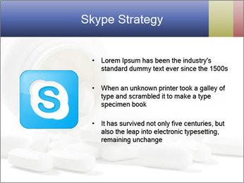 Bottle of tablets PowerPoint Template - Slide 8