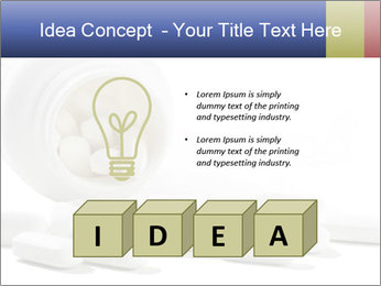 Bottle of tablets PowerPoint Template - Slide 80