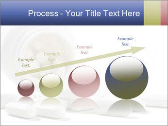 Bottle of tablets PowerPoint Template - Slide 87