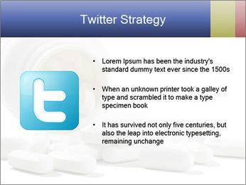 Bottle of tablets PowerPoint Template - Slide 9