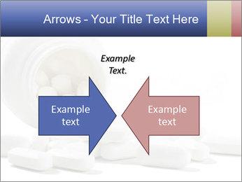 Bottle of tablets PowerPoint Template - Slide 90