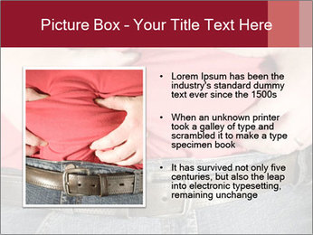 Overweight man PowerPoint Template - Slide 13