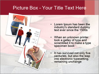 Overweight man PowerPoint Template - Slide 17