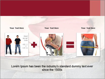 Overweight man PowerPoint Template - Slide 22