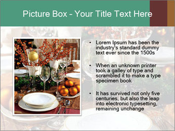 Christmas table PowerPoint Templates - Slide 13