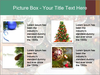 Christmas table PowerPoint Templates - Slide 14